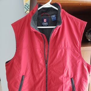 Man' s XL Chaps red vest brand new!